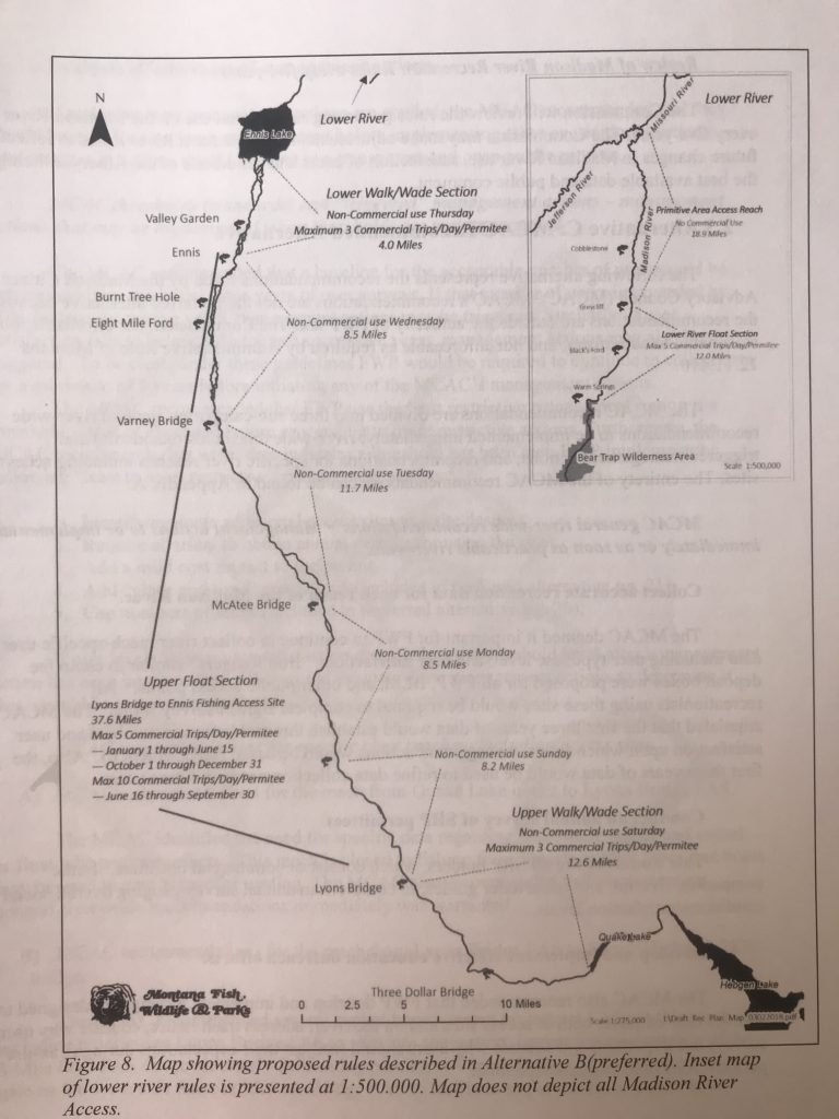 Madison River Montana Map.A Madison River Recreation Plan Is In The Works Upper Missouri